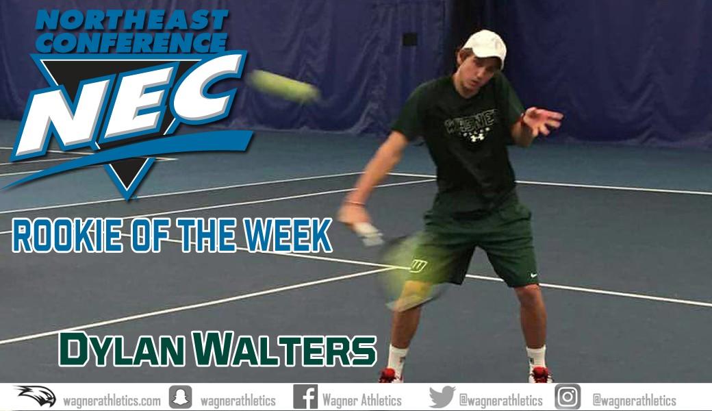 Dylan Walters NEC Rookie of the Week