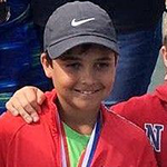 Benjamin Scott - Finalist in the Boy's U/14 Singles Event