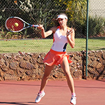 Polia Gizdova Women's U/14 Singles Quater Finalist