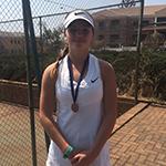 Georgia Hosking Women's U/16 Singles Semi-Finalist